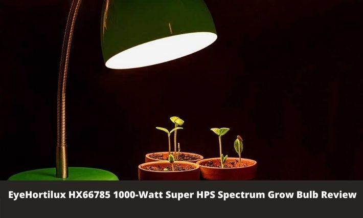 EyeHortilux HX66785 1000-Watt Super HPS Spectrum Grow Bulb Review