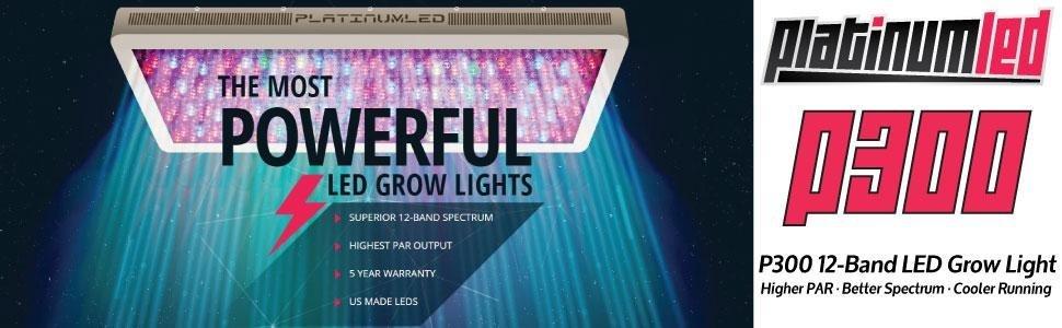Advanced Platinum Series P300 LED Grow Light Review
