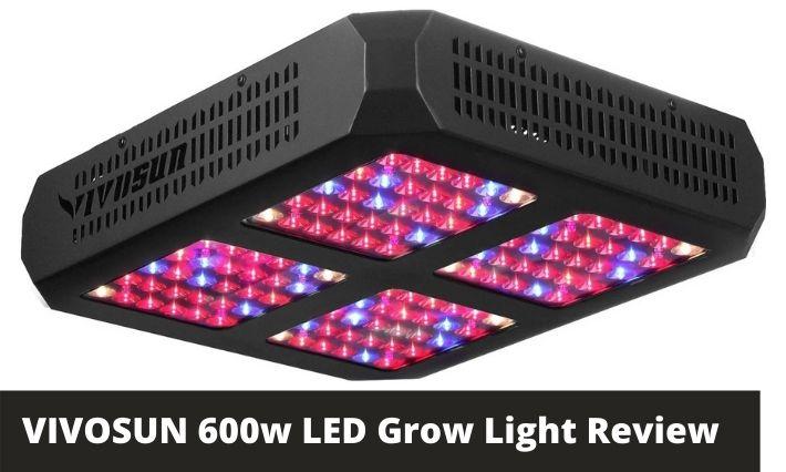 VIVOSUN 600w LED Grow Light Review