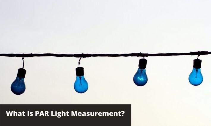 what is par light measurement