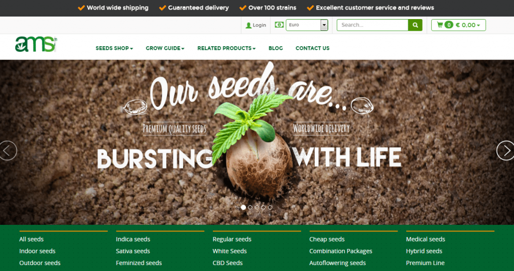 AMS Best Seed Banks To Order From