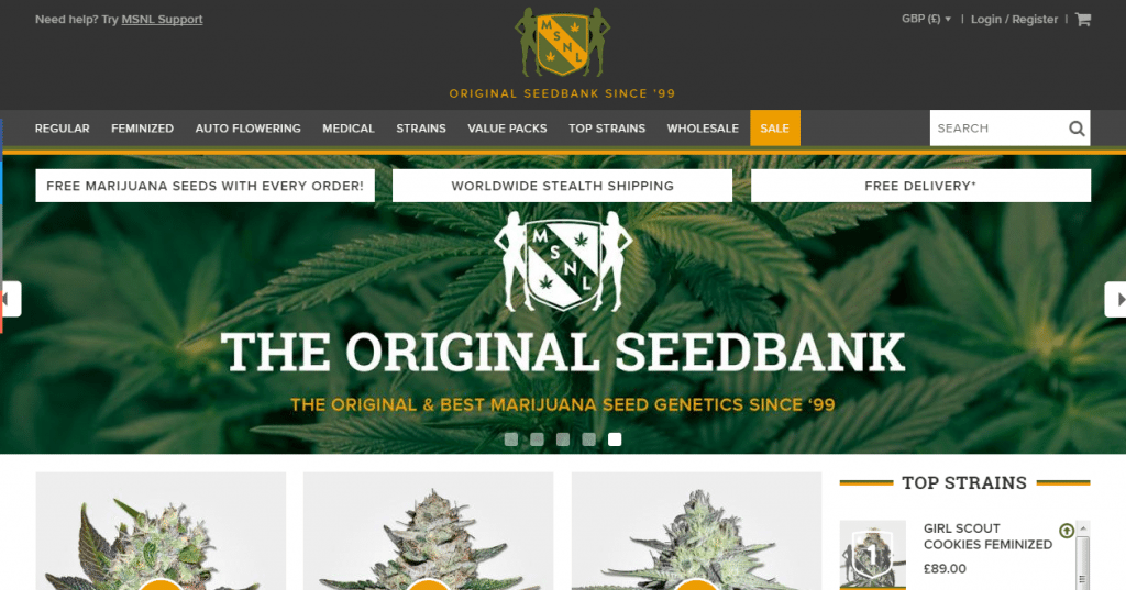 MSNL Best Seed Banks To Order From