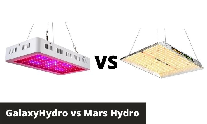 GalaxyHydro vs Mars Hydro: Which LED Grow Light Is Better?