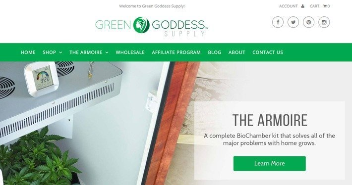 Green Goddess Supply Affiliate Program