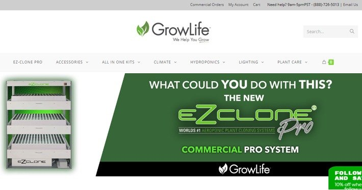 GrowLife Hydro Affiliate Program