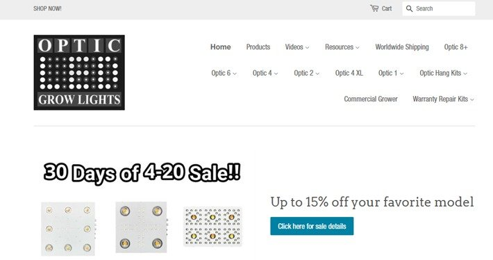 Optic LED Grow Lights Affiliate Program
