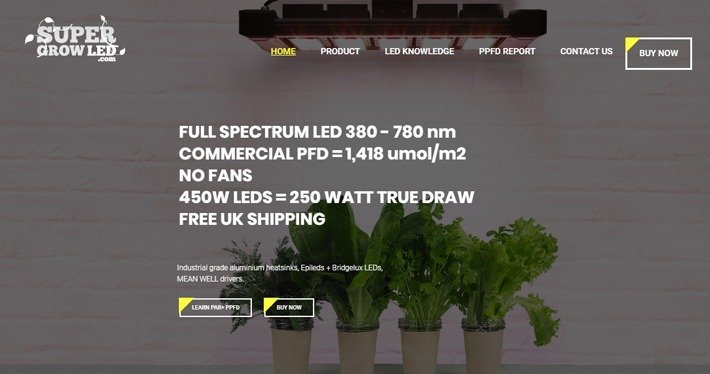 Super Grow LED Affiliate Program
