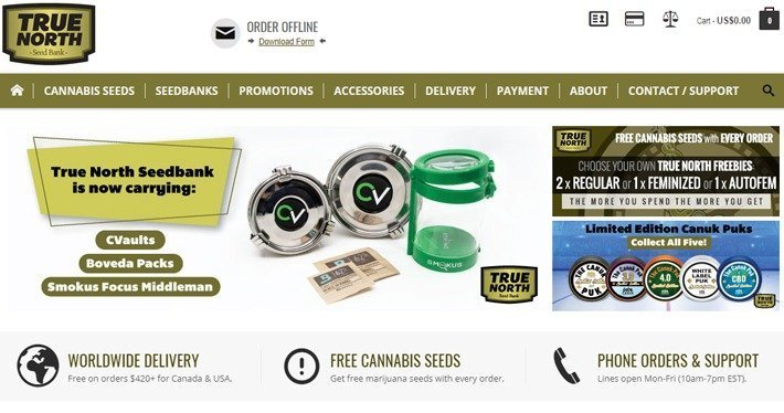 Cannabis Affiliate Programs - True North Seed Bank Affiliate Program