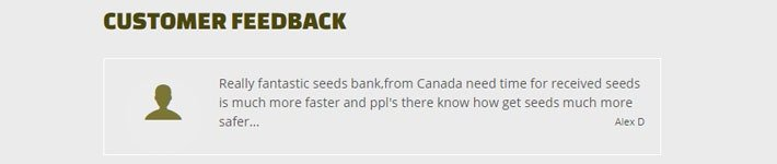 Customer Reviews True North Seed Bank Review