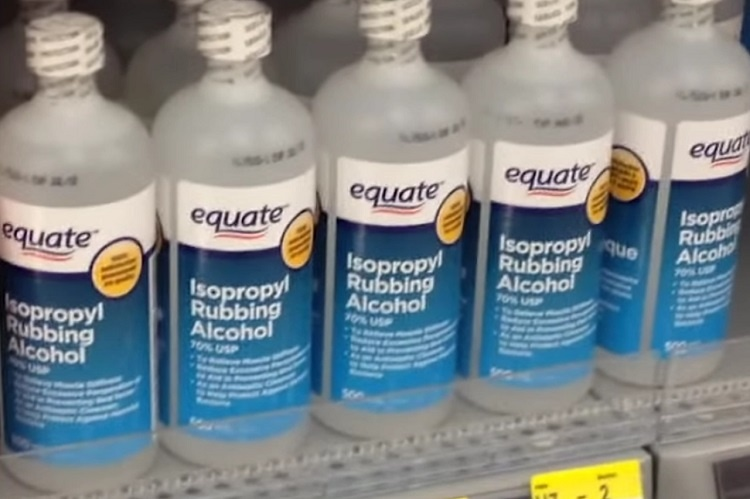 Bottles Of Rubbing Alcohol