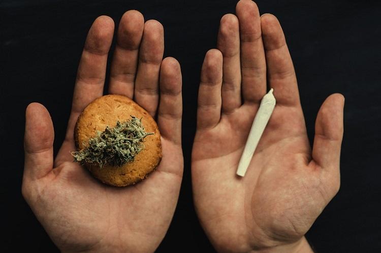 Weed In Hands