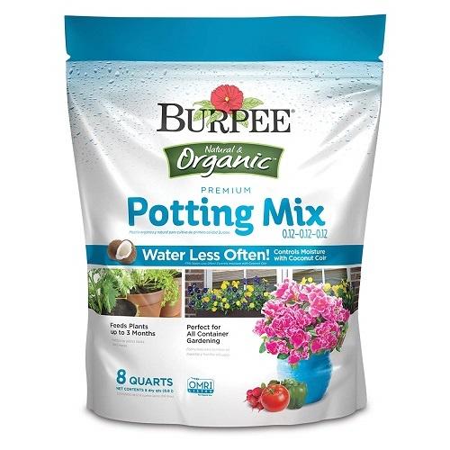 Burpee Natural Organic Premium Growing Mix