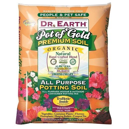 Dr. Earth Gold Premium Potting Soil