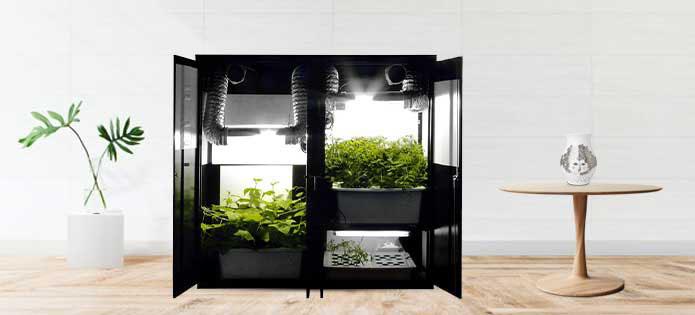 SuperTrinity Smart Supercloset Grow Cabinets 2020