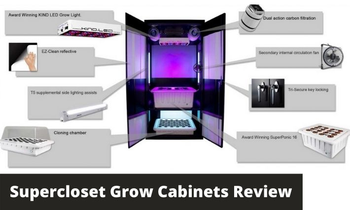 supercloset grow cabinets review