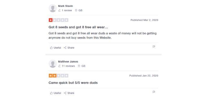 expert seeds reviews
