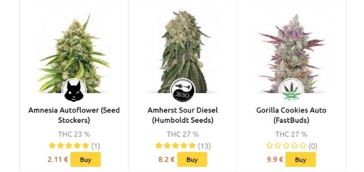 herbies seeds strains